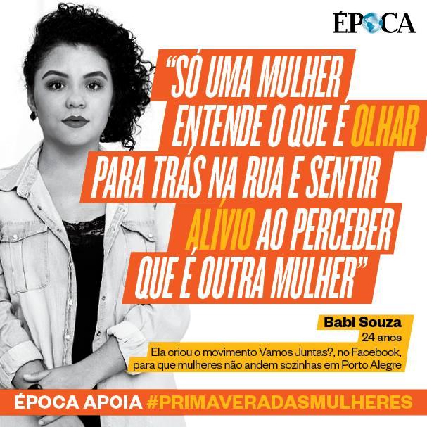 Babi Souza e a revista época patrocinando discurso de ódio contra homens