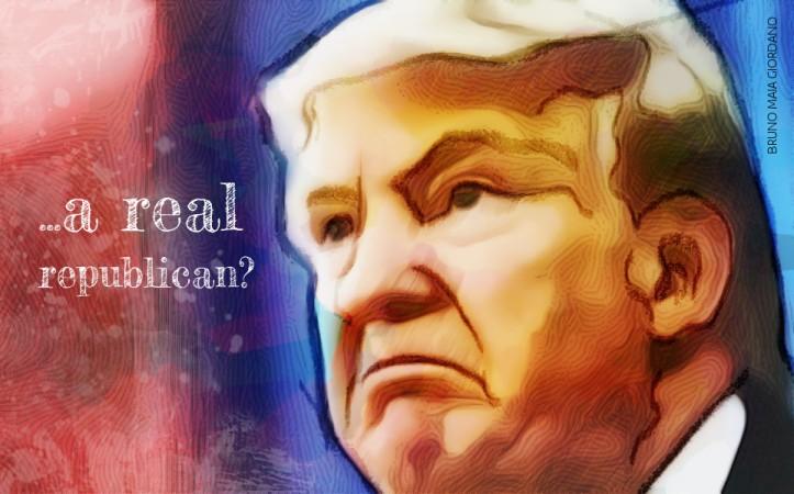 Donald Trump is not a real republican