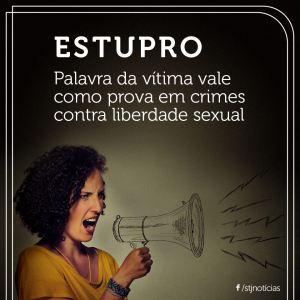STF, estupro, palavra da vítima