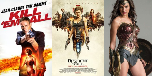 Mulher sensual em filme de Van Damme, Milla Jovovich e Gal Gadot: Cartazes Objetificam mulheres e de vem ser censurados segundo Erika Kokay.