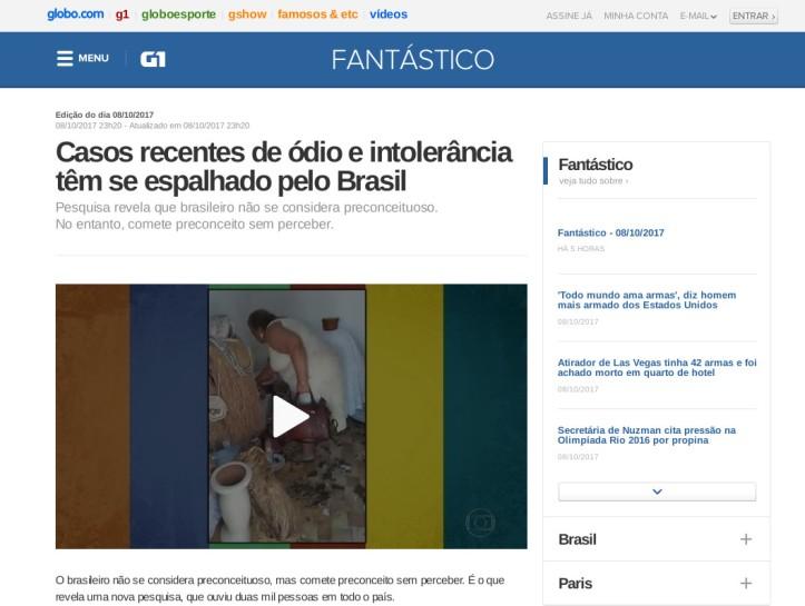 O Fantástico Show de Mentiras da Rede Globo