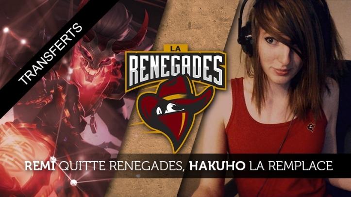 Renegades: equipe envolvida no escândalo de Remilia e banida da Riot, desenvolvedora de League of Legends